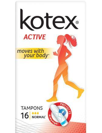 Гигиенические тампоны Кotex Active 16 шт