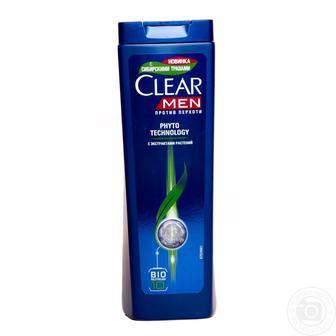 Шампунь против перхоти для мужчин Clear Men Фитотехнология 400мл
