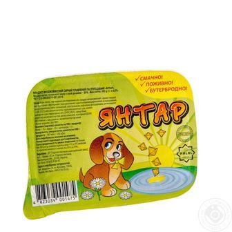 Продукт сирний Янтар плавлений молокомісткий пастоподібний 90г