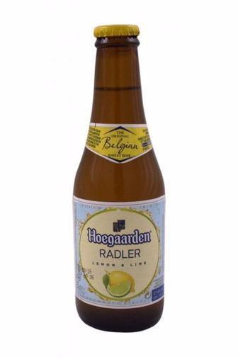 Пиво світле Radler Lemon & Lime або Agrum  Hoegaarden 0.25 л