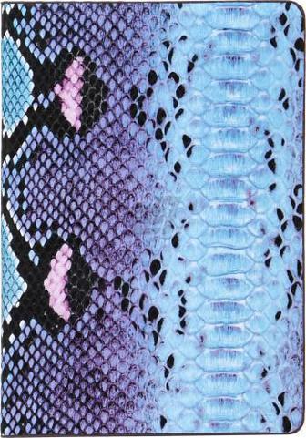 Блокнот Змія A5 80 аркушів синьо-блакитний
