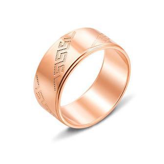 Обручальное кольцо с алмазной гранью. Артикул 10101/13