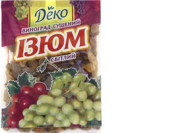 Изюм светлый, Деко, 80г