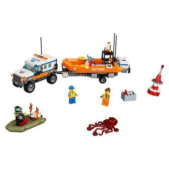Конструктор LEGO City Полноприводная машина отряда реагирования (60165)