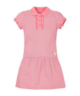 Скидка 30% ▷ Рожева сукня у стилі поло у цяточку від Mothercare