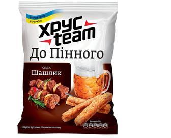 Сухарики ХpyсTeam со вкусом шашлыка, 70г