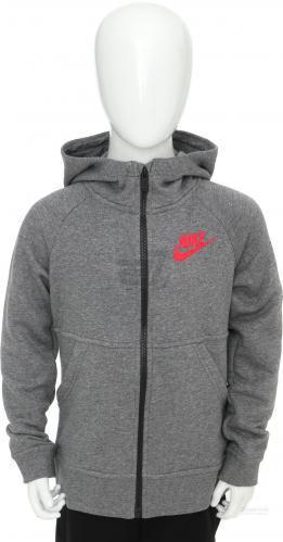 Джемпер Nike G NSW MDRN HOODIE FZ GFX AW1718 806212-094 р. L сірий
