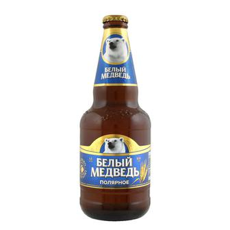 Скидка 22% ▷ Пиво спеціальне Білий Ведмідь Полярне 0,45 л