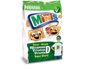 Готовий сухий сніданок Nestle Cini Minis, 250 г