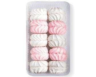 Зефір «Богуславна» біло-рожевий, 400г