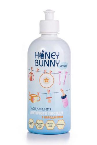 Средство для мытья посуды Honey Bunny детсий с рождения, 500мл