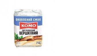 Сыр плавленый сливочный, КОМО, 90г