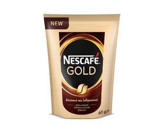 Кава розчина Нескафе Голд 60г