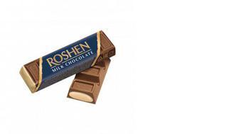 Шоколадний батончик крем-брюле, ROSHEN, 43г