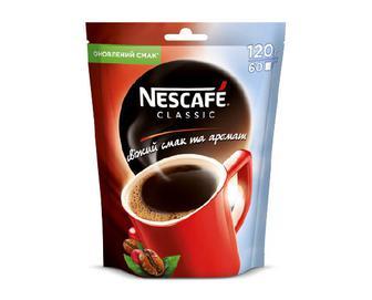 Кава розчинна Nescafe Classic гранульована, 120 г