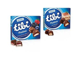 Цукерки Tibi Strawberry & Milk або Tibi Pralines Tiramisu Roshen 120 г/ 122 г