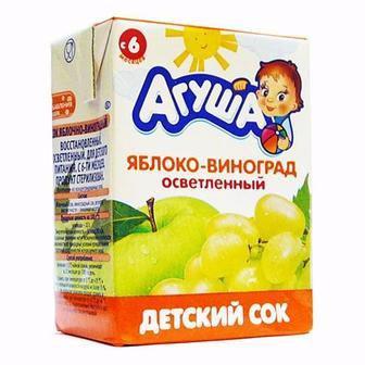 Сок Агуша 200 мл