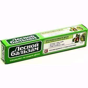 Зубна паста  Лісовий бальзам 75 мл
