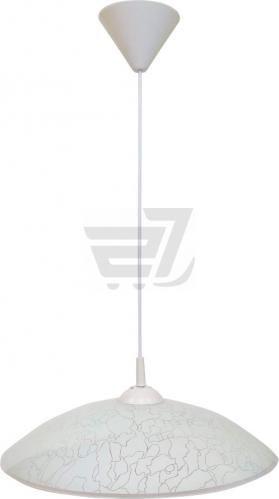 Підвіс Декора Павутинка 26130 D400 1x60 Вт E27 білий глянець