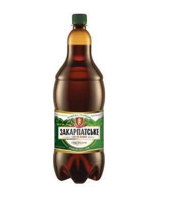 Пиво Перша приватна броварня Закарпатське ориг.2л