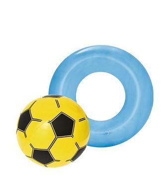 М'яч надувний 41 см, круг надувний 51 см Бествей