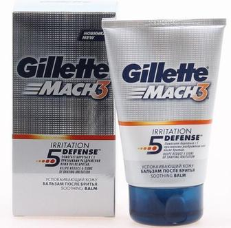 Бальзам после бритья Gillette Mach 3 мужской Успокаивающий, 100мл