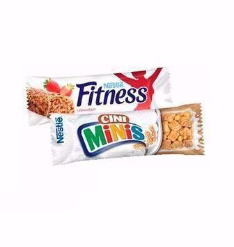 Батончики fitness злаки та злаки з шоколадом, Nesquik та Сіні мініс Nestle 23,5; 25г