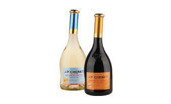 Вино Руж червоне Медіум Світ Біле напівсолодке Жан-Поль Шене 0,75 л