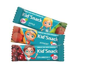 """Батончик """"Kid'Snack"""" Абрикос, Яблуко, Журавлина, 30г"""