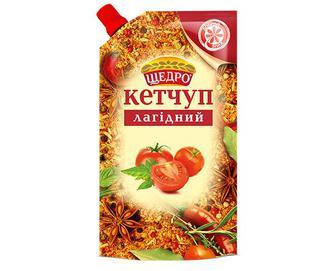 Кетчуп «Щедро» «Лагідний» 300г
