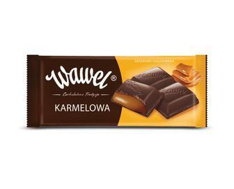 Шоколад Wawel, молочний з карамеллю, 100 г