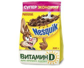 Готовий шоколадний сніданок Nesquik, 500 г