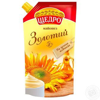 Майонез Золотий Щедро 50% 350г