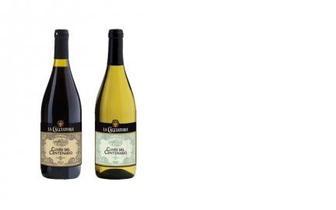 Вино белое/красное п/с, La Cacciatora, 0,75л