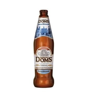 Пиво Роберт Домс Бельгійський Львівське 0.5л