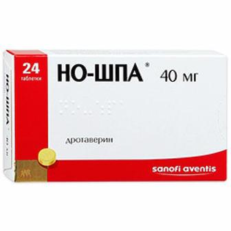Но-шпа табл. 40 мг №24