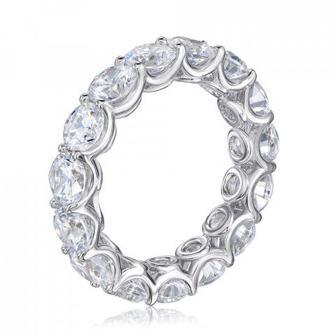 Серебряное кольцо с фианитами. Артикул ol02106a-R/12/1