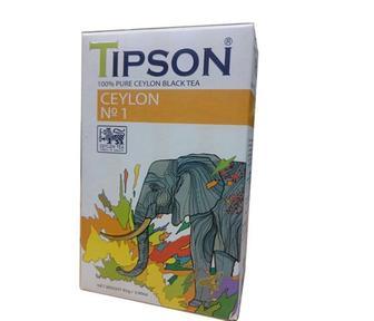 Чай чорний або зелений Tipson Цейлонский Шри-Ланка 85 г