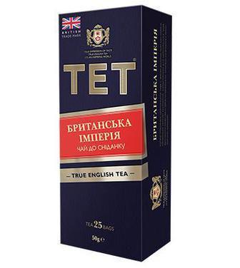 Чай чёрный «Британская Империя», ТЕТ, 25пак