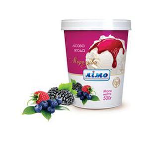 Морозиво Лісова ягода Лімо 500г