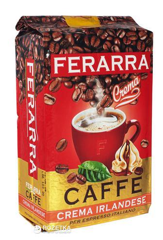 Кава мелена 100% ARABIKA або CREMA IRLANDESE FERARRA 250 г
