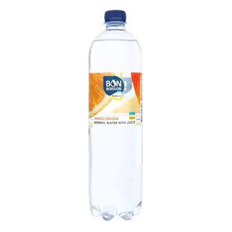 Минеральной воды с соком Бон Буассон со вкусом Манго-Апельсин 1л