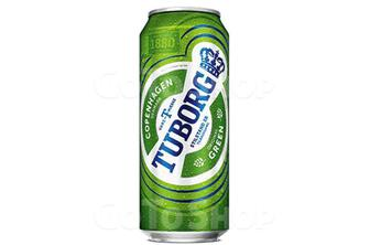 Пиво світле Green Tuborg 0,5 л