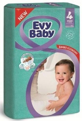 Підгузки Evy Baby Максі Стандартна упаковка 7-18 кг 24 шт.