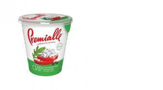 Сыр зернистый 7%, Premialle, 300г
