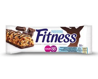 Батончик Nestle Fitness з цільними злаками та шоколадом, 23,5г