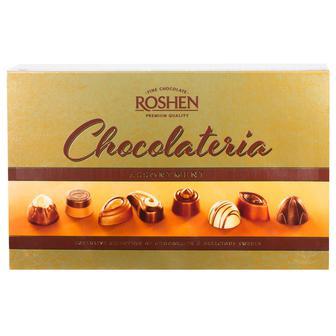 Цукерки Chocolateria шоколад та праліне 194г Roshen