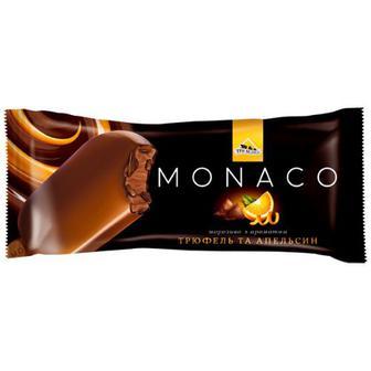 Морозиво Три Ведмеді Monaco трюфель-апельсин 80г