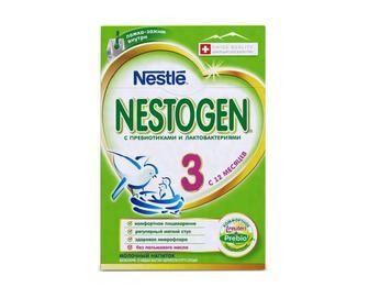 Суміш суха молочна, Nestle Nestogen, 3, 700 г