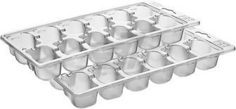Набір форм для льоду 2 шт. AP-9001-WT Titiz Plastik